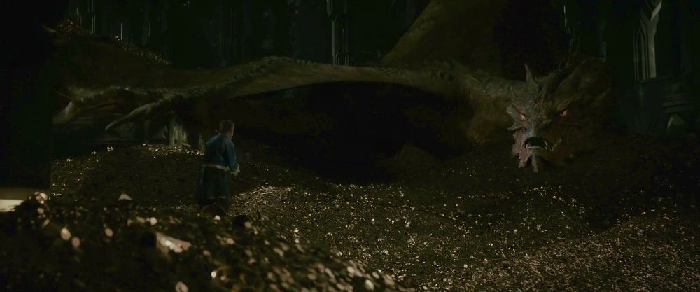 smaug et l'or